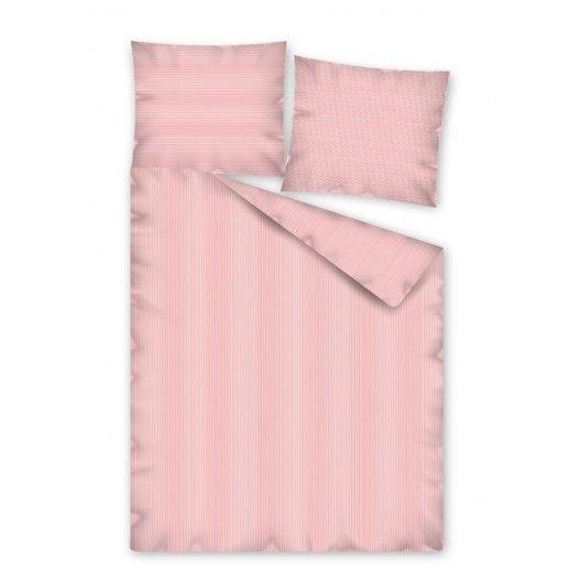 Posteľné obliečky v ružovej farbe