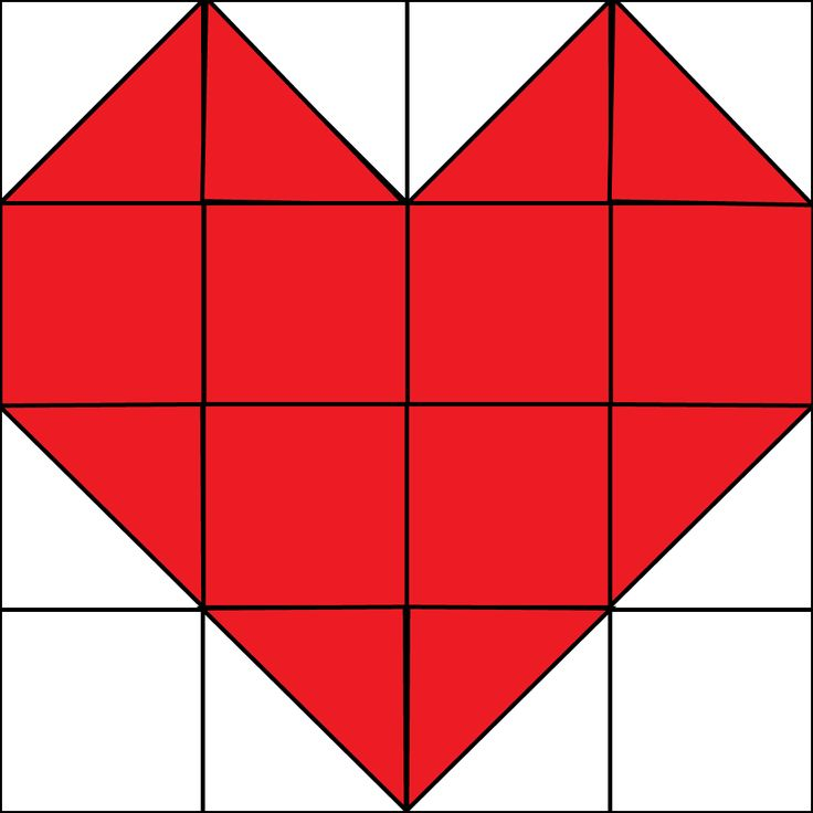 """It's the first Monday of the month which means it's time for our Quilt Block of the Month! This month we are doing a heart quilt block for Valentine's Day. This block was not included on our Quilt Block of the Month Quilt…it is a """"bonus block"""" that can easily be made into a mini...Read More »"""