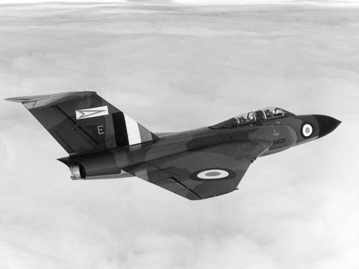 Gloster Javelin - check out that massive fin! Classic beauty - one of my favourite aircraft.