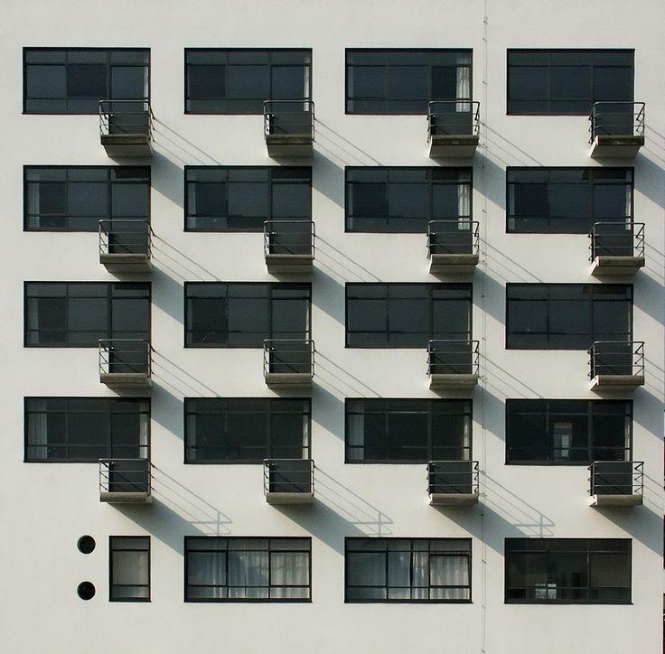 Studententenwohnhaus am Bauhaus in Dessau