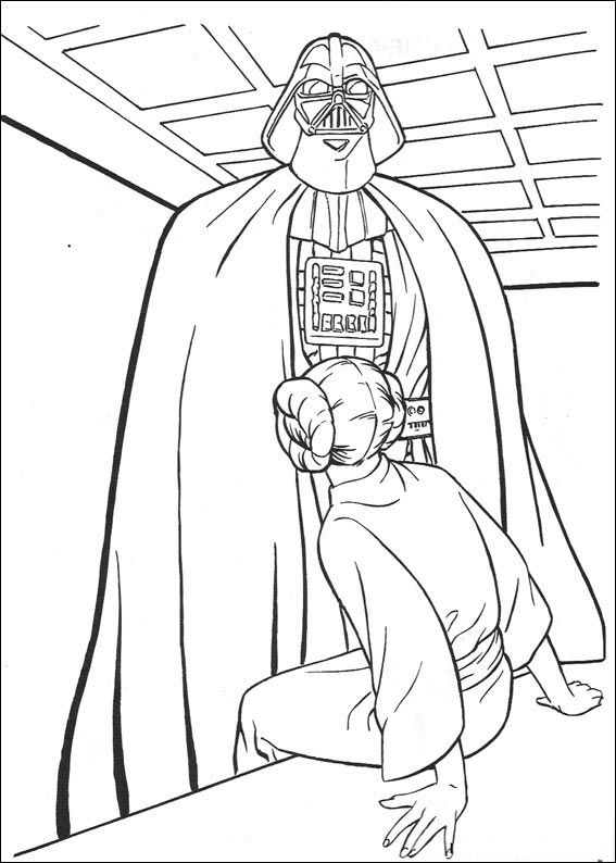 26 best star wars Malvorlagen images on Pinterest | Coloring books ...