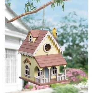 Wooden Victorian Style Hanging Birdhouse By Collections Etc