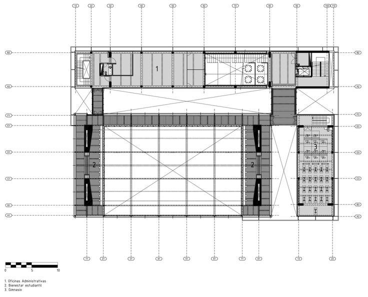 Galería de Centro Deportivo Universidad de los Andes / MGP Arquitectura y Urbanismo - 36