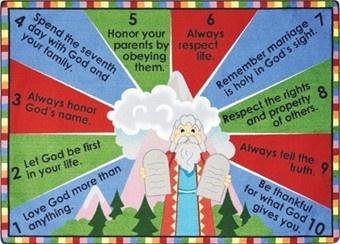 33 Best The Ten Commandments Images On Pinterest Sunday