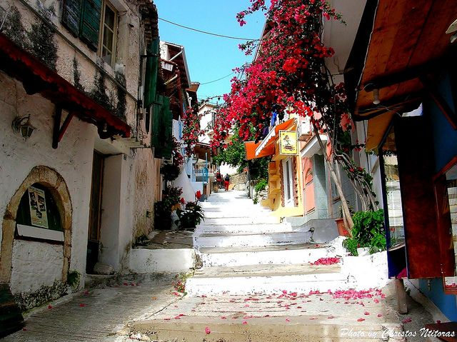 Photo from an Alley in Parga - Greece | Flickr - Photo Sharing!