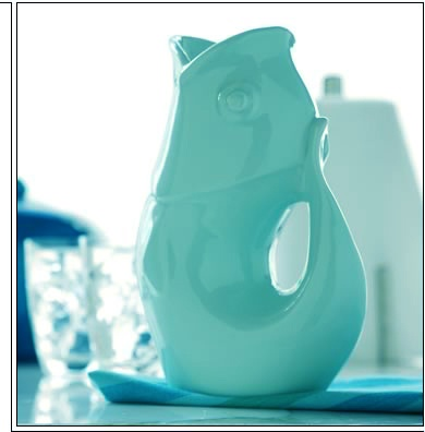 GurglePot (Aqua)Gift Ideas, Housewarming Gift, Gurgle Pots, Products, Gurgle Fish, Hostess Gift, Fish Pitcher, Gurgle Sounds, Gurglepot Pitcher
