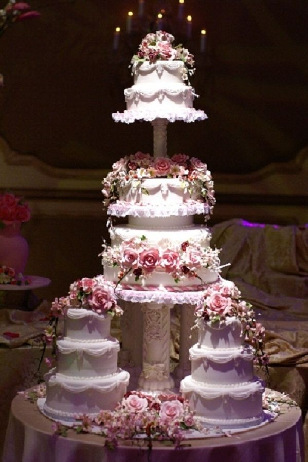 Simple 3 Tier Wedding Cakes Multiple Tiered Wedding Cake Round Wedding Ca