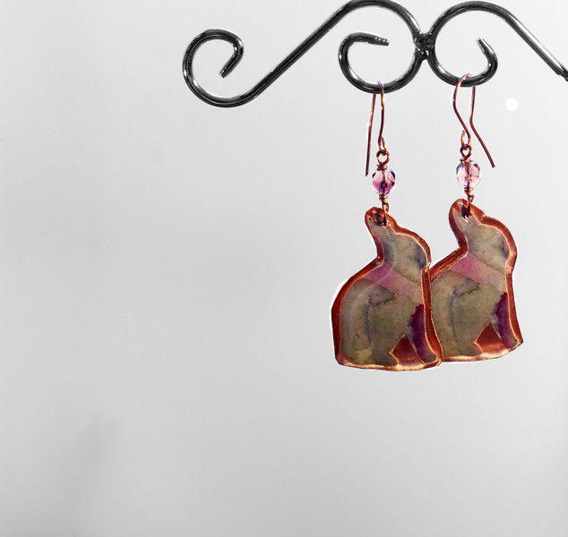 Orecchini+Art+to+wear+134+in+rame++di+SilmieCreations+su+DaWanda.com