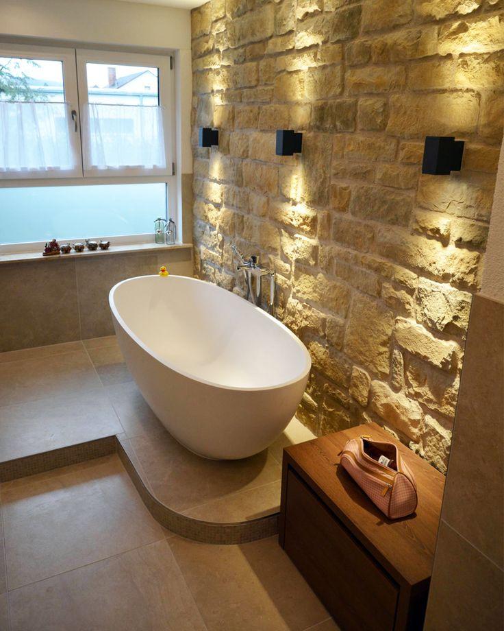Die besten 25+ Gusseiserne badewanne Ideen auf Pinterest Rosa - badezimmer steinwand
