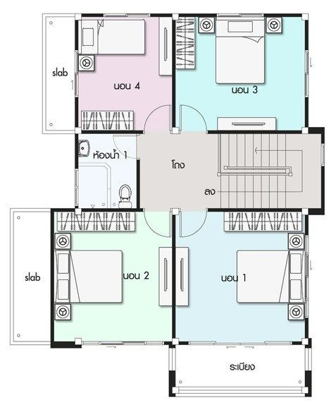 House Design Plan 9x11 5m With 4 Bedrooms Home Design With Plansearch Home Design Plans Duplex House Design Bedroom House Plans
