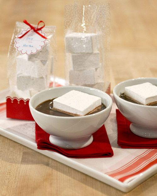 Martha Stewart Vanilla Marshmallows, the easiest and fastest recipe I have found.  It is the same recipe Thomas Keller uses.
