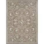 Weathered details give this eye-catching rug antiqued appeal while its medallion motif brings sophisticated style to any space. Use it anchor a vintaged ensemble in the den or to define space in the master suite.