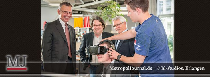 (ER) IHK-Präsident Dirk von Vopelius besucht hl-studios - http://metropoljournal.de/?p=9123