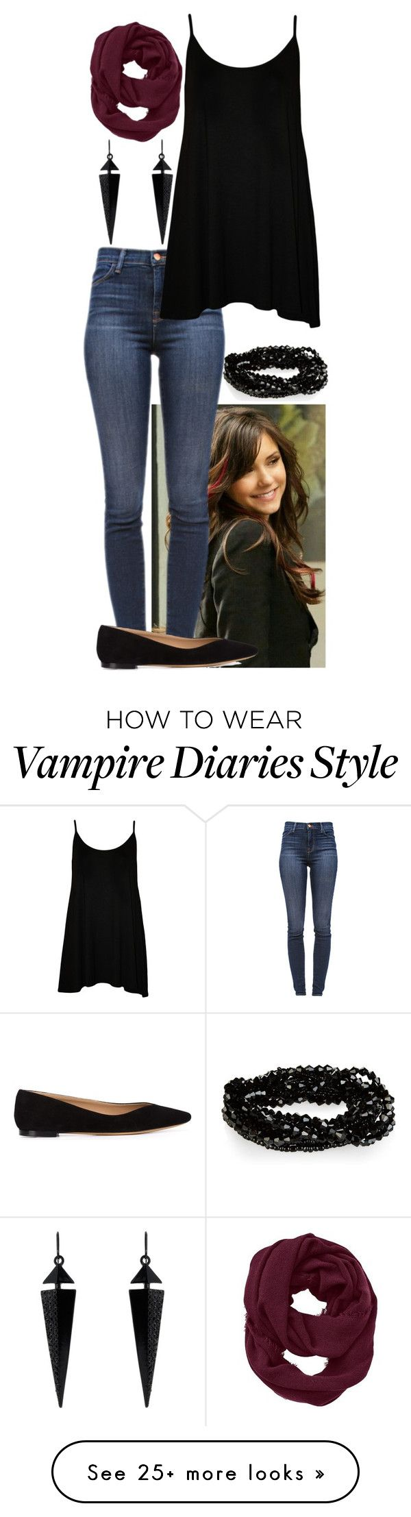 """""""Spending the day with Elena"""" by ockey-33 on Polyvore featuring J Brand, Chloé, WearAll, Athleta and Oasis"""