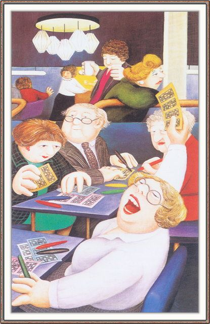 Bingo! - Beryl Cook