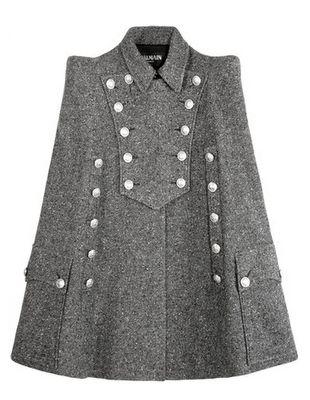 military capes for women | the It Girl: Fall/Winter 2013 Trend: Capes