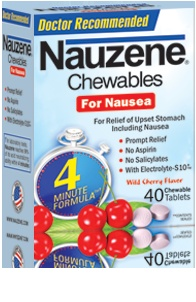 These antacids/anti-nausea tablets have rescued me many times.  They work quickly, taste good, and are affordable.