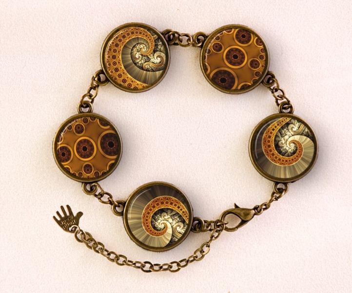 Bracelet Octopus, Tentacles jewellery, 0107BB from EgginEgg by DaWanda.com