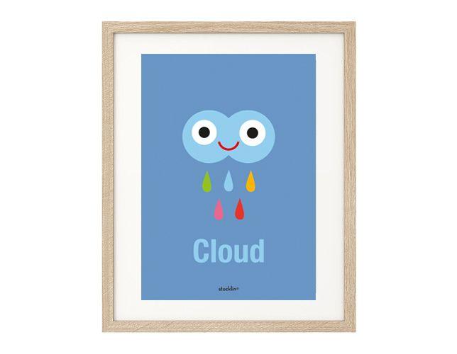 """Ilustración / Illustratión """"Cloud"""". Printable. http://es.dawanda.com/shop/linavila"""