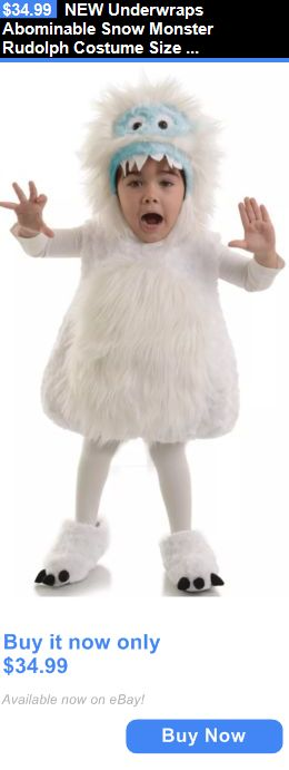 Halloween Costumes Kids: New Underwraps Abominable Snow Monster Rudolph Costume Size 18-24 Months Bumble BUY IT NOW ONLY: $34.99