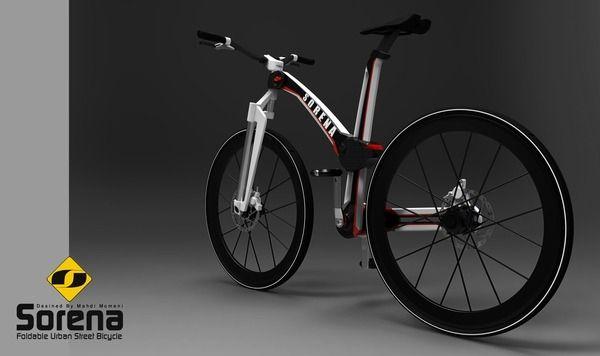 Складной городской велосипед SORENA