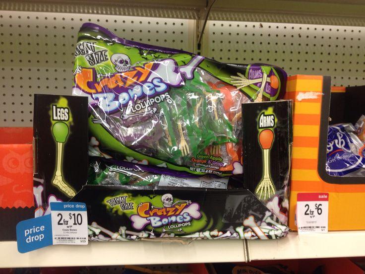 crazy bones lollipops at kmart halloween candy - Kmart Halloween