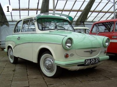 I think we had a toy Trabant just like this when I was little...wonder if my brother still has it.