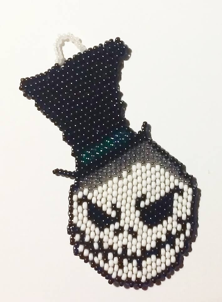 The Nightmare Before Christmas' Jack Skellington in a top hat