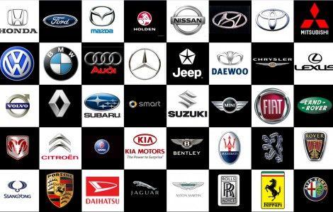 Car Brand Logos and Names