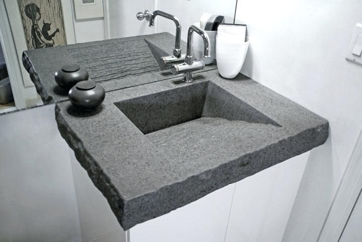 Fabulous Concrete Bathroom Vanity 1 Image Mesa Ramp Concrete