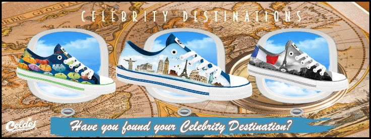 Celdes Blog - Plimsoll casual printed shoes printed with picture of celebrity…