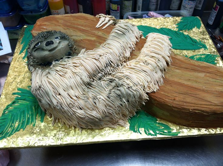 Sloth Birthday Cake Luckytreats Sloth Lucky Treats