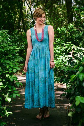Sea Of Capri Maxi Dress | Indonesia | shopgofish.com - $68