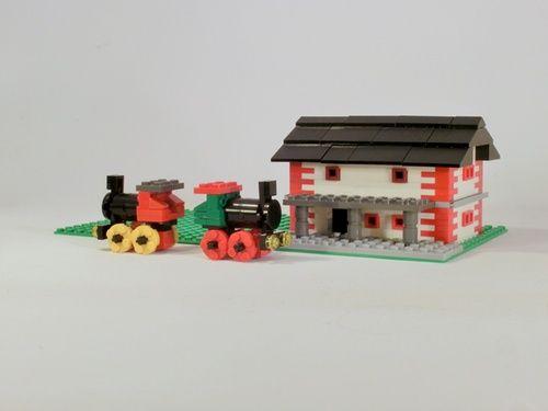 Bahnhof Lummerland: A LEGO® creation by Steffen Rau : MOCpages.com