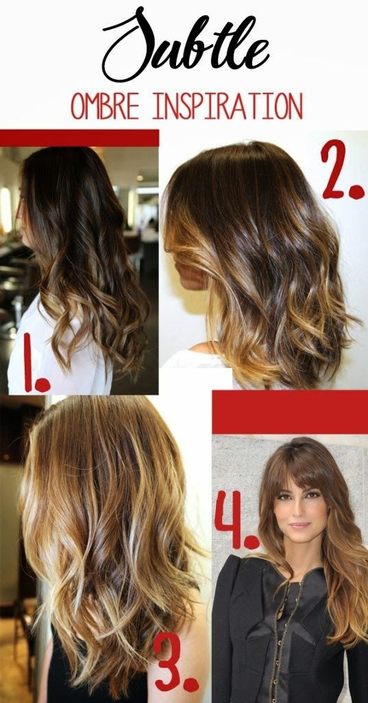 Light Brown Hair Color - Highlights for Brunette | Hairstyles |Hair Ideas |Updos