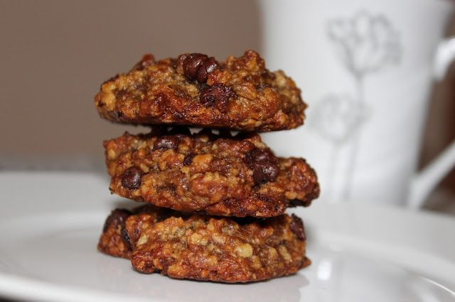 Galletas de Avena con Chips de Chocolate. Sin Gluten, sin huevos, sin lácteos. Blog Recomiendo by Pola & C…
