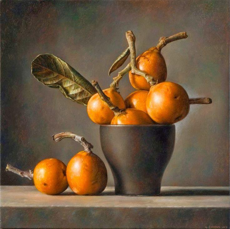 Daniela Scarel Arte Gianluca Corona Nature Morte Painting Still Life Still Life Art Still Life Fruit