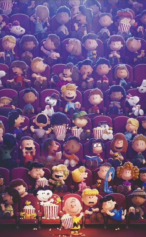peanuts and snoopy image