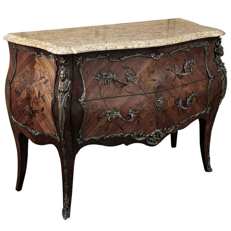 Antique Louis XV Bombe Marble Top Commode. 205 best Exclusive Furniture images on Pinterest   Chairs  Antique