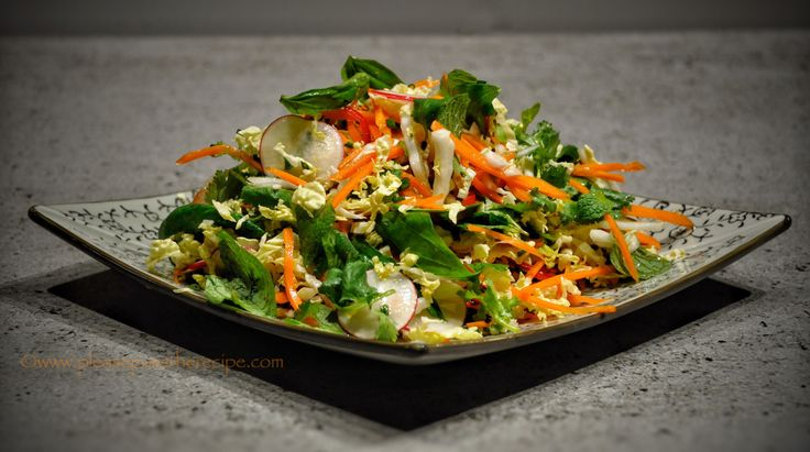 SE Asian Style Coleslaw