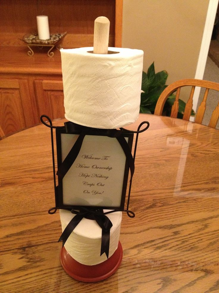 Saw it, Pinned it, Made it.: Plunger Housewarming Gift