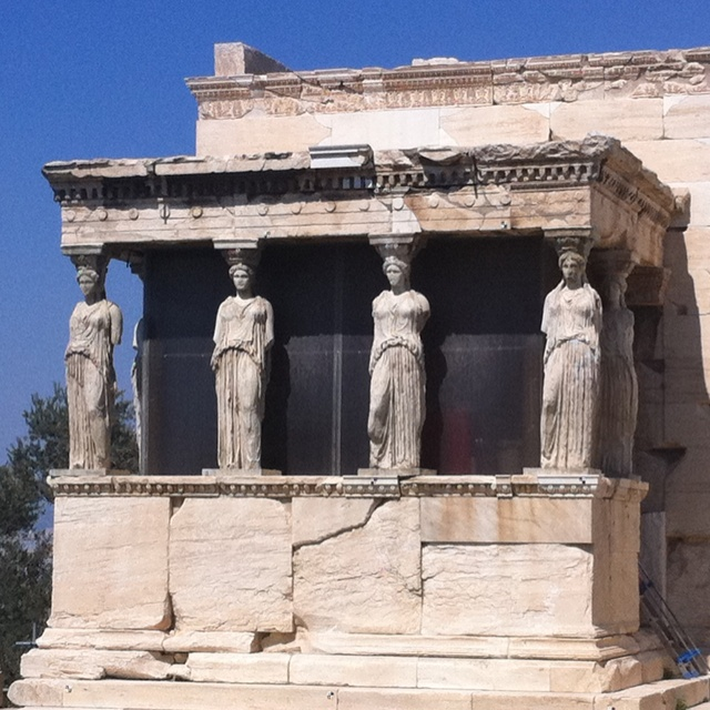 Karyatides (they want their sister back) @Erehtheion-Acropolis-Greece