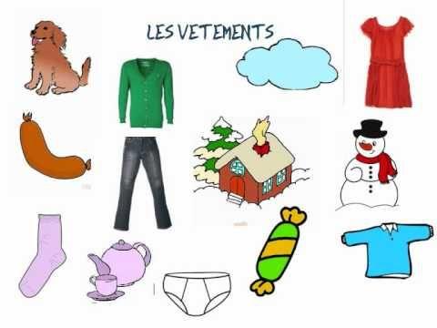 Révision des catégories de vocabulaire (fruits, vêtements, les outils) - partie 2 - enfants - http://youtu.be/z-qMwgWGUM8