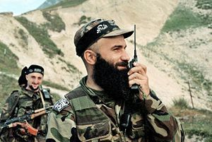 Shamil Basayev (A Chechen hero or a terrorist - you decide)