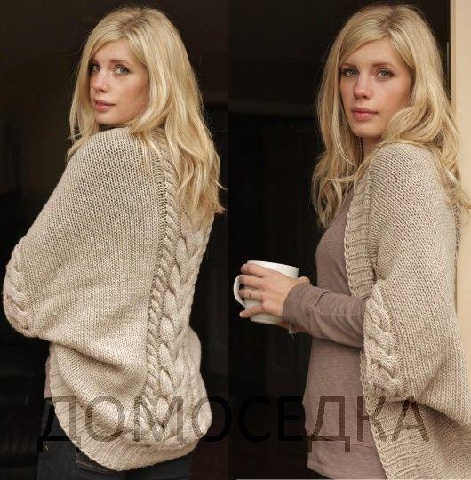 Красивый вязаный шраг от Melissa Schaschwary (Вязание спицами) | Журнал Вдохновение Рукодельницы