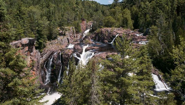 Visit Aubrey Falls, a remote scenic waterfall in Algoma Country, to photograph, paint or enjoy a picnic.