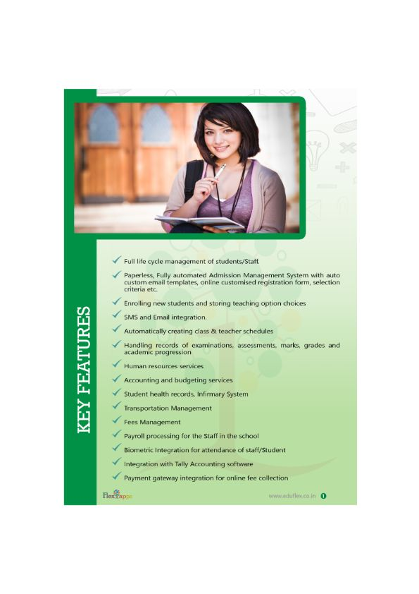 13 best Eduflex Brochure images on Pinterest Brochures, Colleges - software brochure