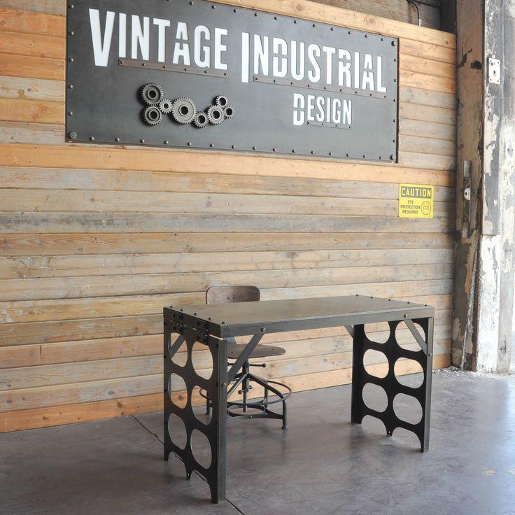 307 best Vintage Industrial Desk / Antique French Rustic ...