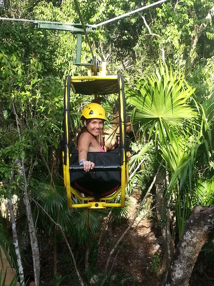 The newest adventure in Cancun and Riviera Maya, the best combination of a bicycle and a Zip-line. @Caboodles #springbreak #caboodles #caboodlesSB