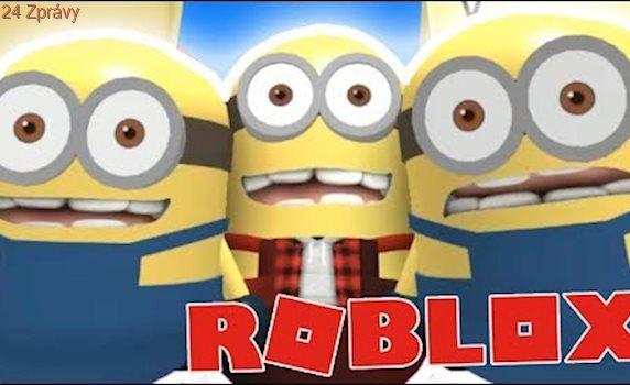 JSME MINIONI!:DD - Roblox Escape the Minion Obby!